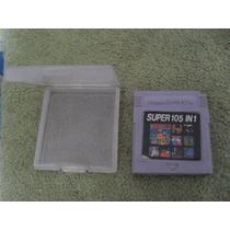 Cartucho 105 In 1 Para O Game Boy Funcionando 100%