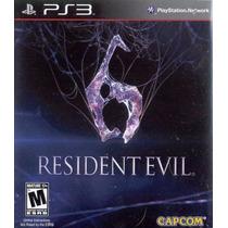 Resident Evil 6, Ps3 Novo, Lacrado, Importado