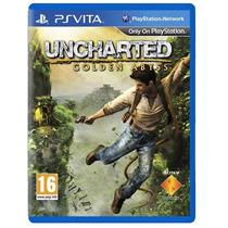 Uncharted Golden Abyss Ps Vita Psvita Sony Original Lacrado