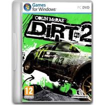 Dirt 2 Jogo Pc Original Lacrado Game Raro Rally Corrida