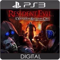 Resident Evil Operation Raccoon Ps3 Psn Envio Rápido