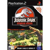 Jogos Ps2 - Jurassic Park - Operation Genesis