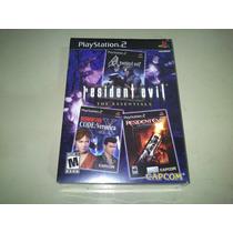 Resident Evil The Essentials - Box Lacrado - Americano