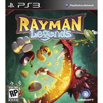 Jogos Rayman Origins + Rayman Legends Pt Para Playstation 3