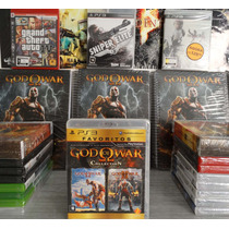 God Of War Collection - Favoritos Ps3 Lacrado Pronta Entrega