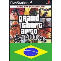 Gta San Andrea Em Portugues Matrix Play Station 2.