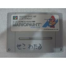 Mario Paint - Super Famicom Nintendo Cartucho Original Game