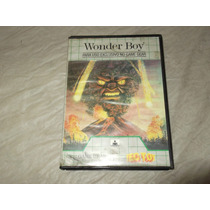 Wonder Boy Game Gear Caixa Manual