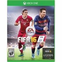Jogo Fifa 16 Xbox One Português Br Novo Lacrado