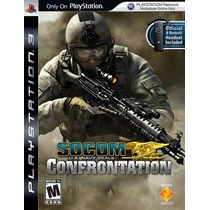 Socom Confrontation Us Navy Seals - Ps3