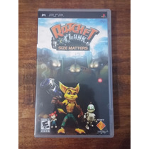 Ratchet And Clank Size Matters - Sony Psp - Original
