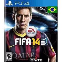 Jogo Ps4 Fifa 14 Playstation 4 Portugues 2014 Original Sony