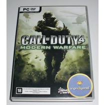 Call Of Duty 4 Modern Warfare | Ação | Tiro | Pc | Original