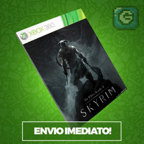 Xbox 360 - Skyrim The Elder Scrolls V - Full Game Download