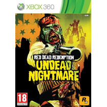 Red Dead Redemption - Undead Nightmare - Xbox360 - Usado
