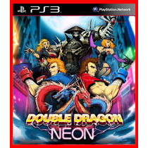 Double Dragon Neon Ps3 Psn Aventura Beat N Up