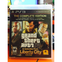 Jogo Gta Iv E Episodes From Liberty City Playstation 3