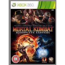 Xbox 360 - Mortal Kombat Komplete Edition - Míd Fís - Lacrad