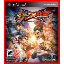 Street Fighter Vs Tekken Ps3 Psn Oferta