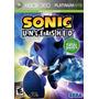 Sonic Unleashed Xbox 360 Original Mídia Física Rcr Games