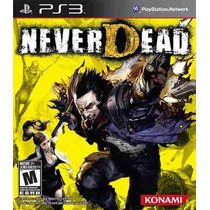 Never Dead Ps3 - Novo - Cd -caixa Original