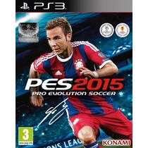 Pes 2015 (pro Evolution Soccer 2015) Ps3 Psn Português/br