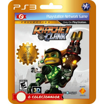 Promoção! Ratchet & Clank Trilogy Collection (código Id Ps3)
