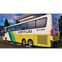 Simulador Brasileiro De Ônibus Patch Bus Euro Truck 2