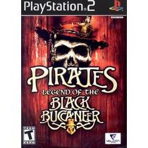 Jogos Ps2 - Pirates - Legend Of The Black Buccaneer