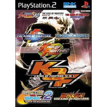 The King Of Fighters 10 In 1 Ps2 Patch Impresso Na Mídia
