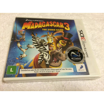 Madagascar 3 The Video Game (nintendo 3ds) - Lacrado