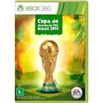 Copa Do Mundo 2014 Brasil Fifa 14 Original Xbox 360