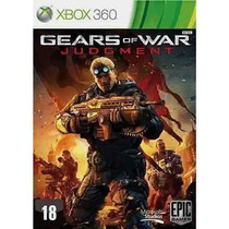 Jogo Xbox Gears Of War Judgment Xbox 360 Original Lacrado