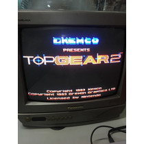 Jogo Top Gear 2 Super Nintendo, Snes