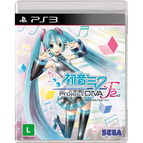 Hatsune Miku Project Diva F 2nd - [ps3] Lacrado