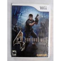 Jogo Resident Evil 4 Wii Edition - Original E Completo - Wii
