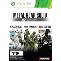 Metal Gear Solid Hd Collection - Xbox 360 / X360