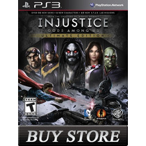 Injustice Ultimate Edition Gods Among Ps3 Cod Psn