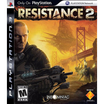 Resistance 2 - Ps3 Original!