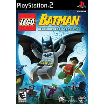 Patch Lego Batman The Videogame Ps2 Frete Gratis