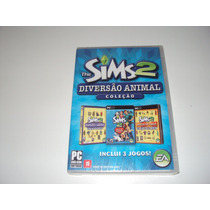 The Sims 2 Expansão Diversão Animal Original Lacrado Pc