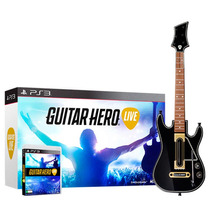 Jogo Guitar Hero Live C/ Guitarra Oficial (ps3) - Activision