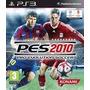 Pro Evolution Soccer Pes 2010 / Ps3 Jogo Original