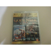 Jogo God Of War Collection Ps3 - Novo Original Lacrado