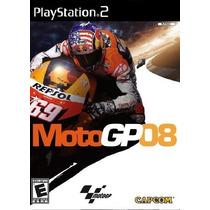 Jogos Ps2 - Moto Gp 08