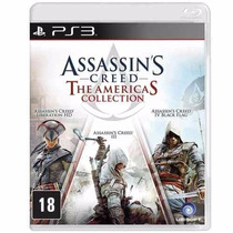 Assassins Creed The Americas Collection - Ps3 - Midia Fisica