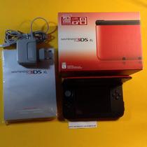 Nintendo 3ds Xl Nacional Completo C Capa Protetora+películas