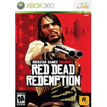 Red Dead Redemption - Xbox 360 M Física ( Original/lacrado )