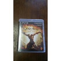 Jogo God Of War Ascension Ps3 - Seminovo - Mídia Física