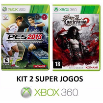 Pes 2013 + Castlevania Lords Of Shadow 2 Xbox 360 - Lacrado